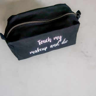 Personalised washbag