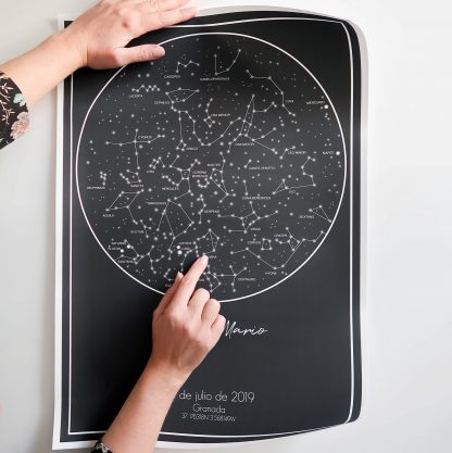 Personalised sky map